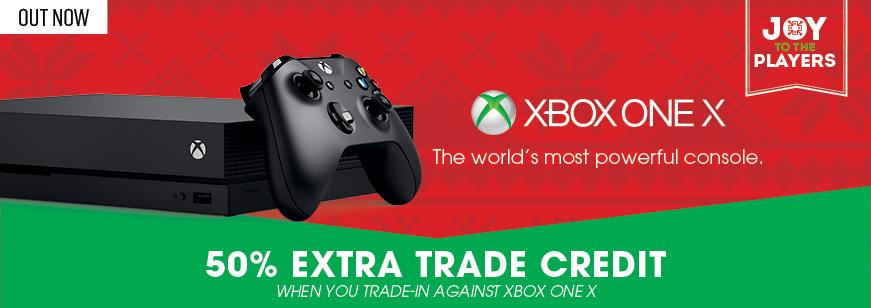 xbox one x, xbox one x trade, xbox trade