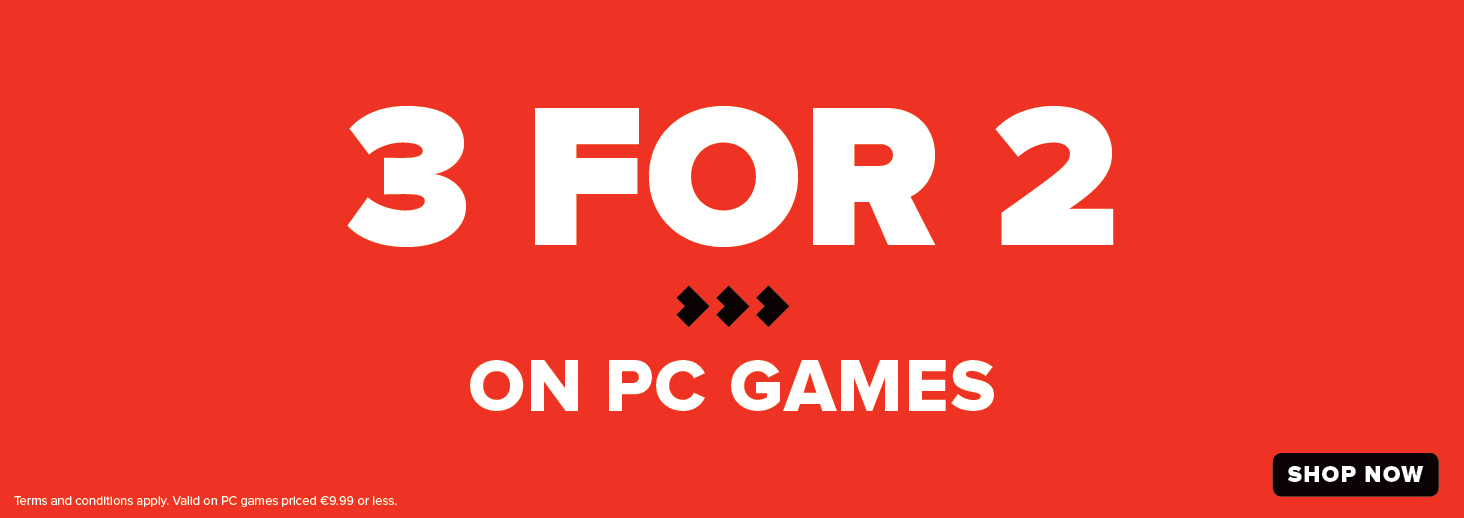 3 for 2 on pc games