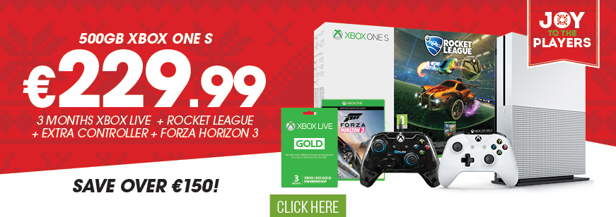 Xbox One 500GB Rocket League Bundle + Forza + At Play Controller Offer