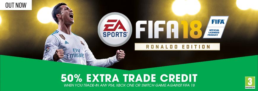 Fifa 18 50% Extra Trade Credit