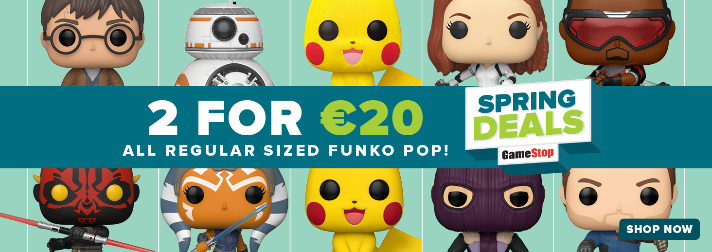 Save now on Funko Pop Bundles