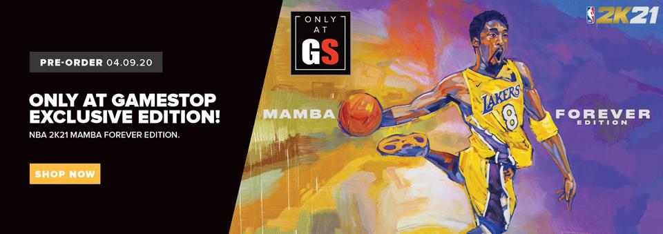 Pre-order NBA 2K21 Mamba Edition - Only at GameStop