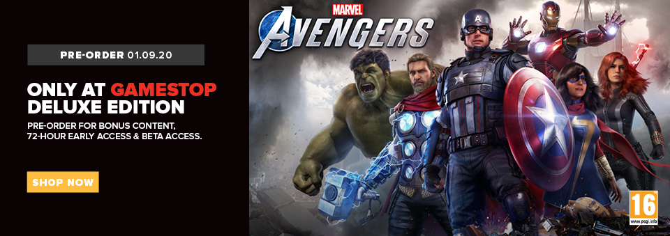 pre-order marvel's avengers deluxe edition,marvel's avengers,marvels,avengers,marvels avengers deluxe edition