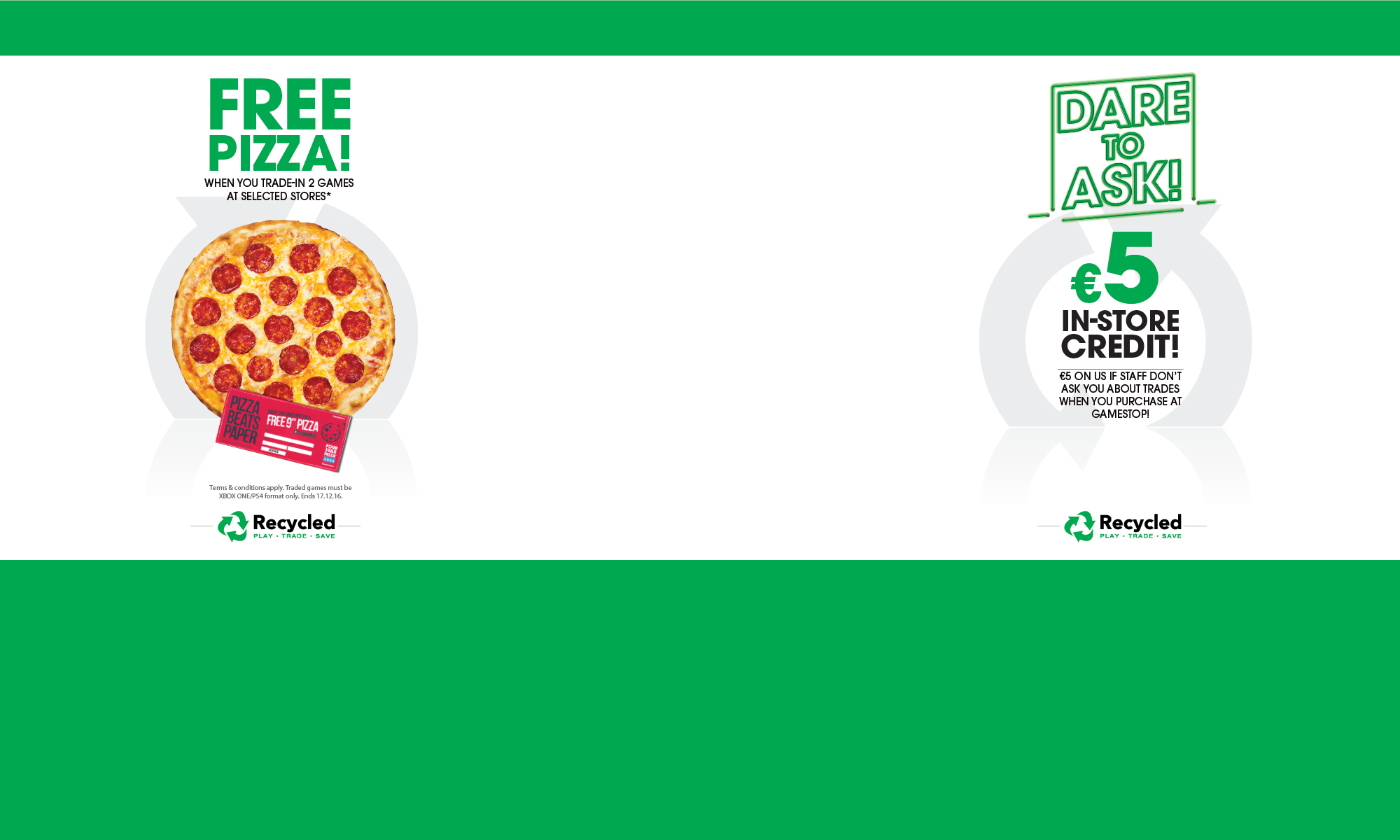Dare To Ask In-Store Credit Pizza Skin