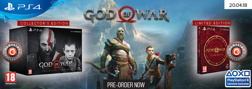 Pre-Order God of War