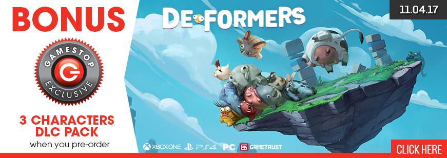 Deformers Pre Order Bonus DLC