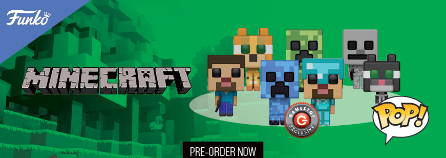 Pre Order Pop! Games: Minecraft