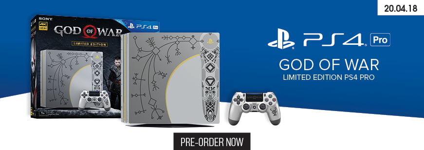 PS4 Pro God of War Limited Edition Console