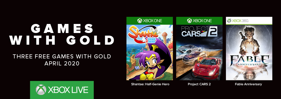 Get Games with Gold
