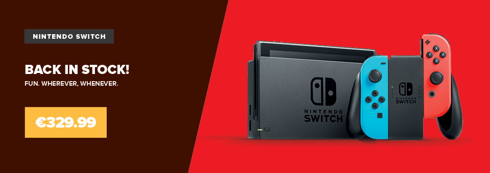 Nintendo Switch Back in Stock!
