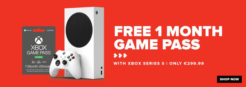 Xbox Series S w Gamepass
