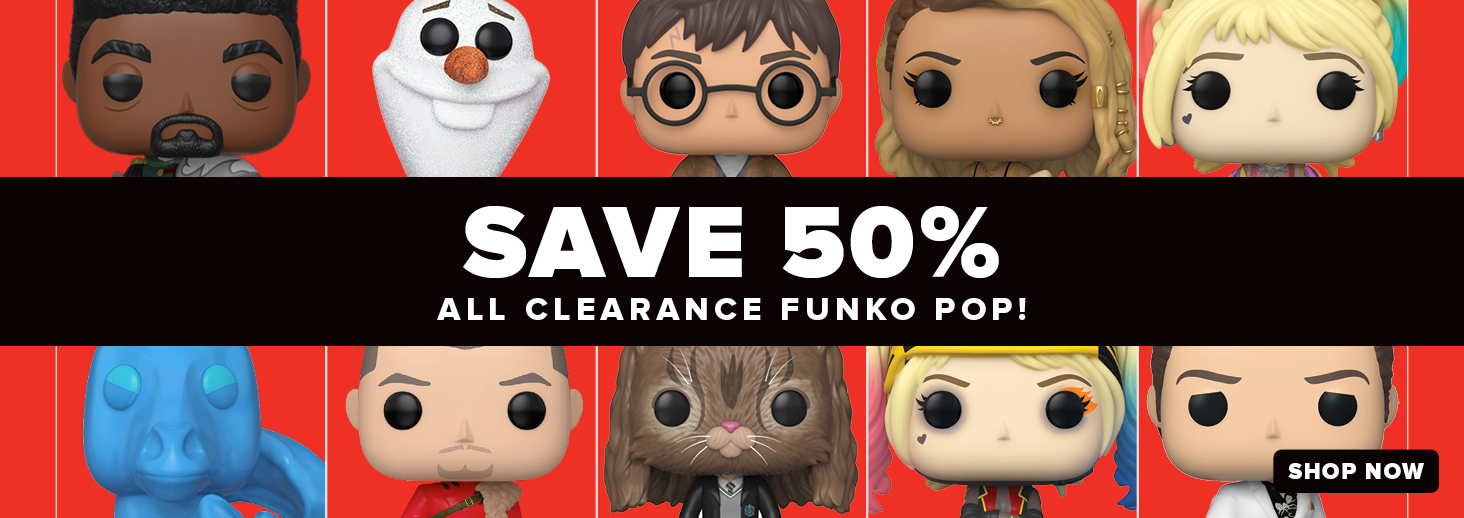 save 50% on clearance pops