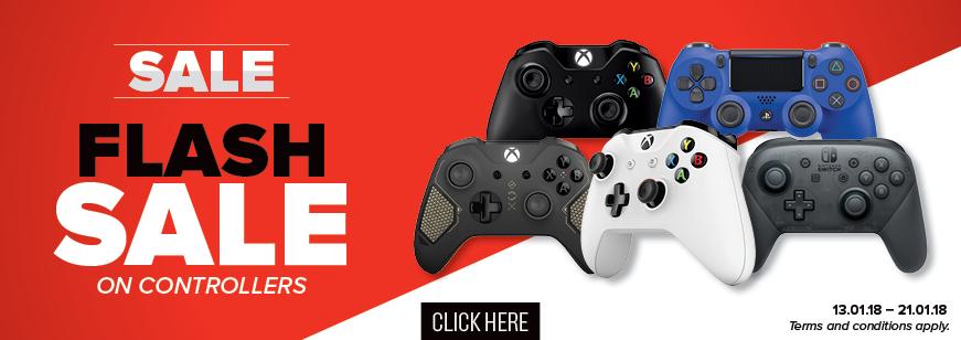 Controller & Dualshock Promotion 13.01.18 - 21.01.18