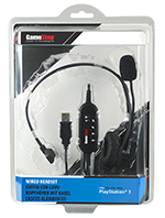 Gamestop Wired PS3 Headset