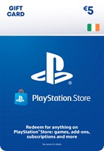 €5 PlayStation Network Wallet Top Up