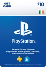 €10 PlayStation® Network Wallet Top Up
