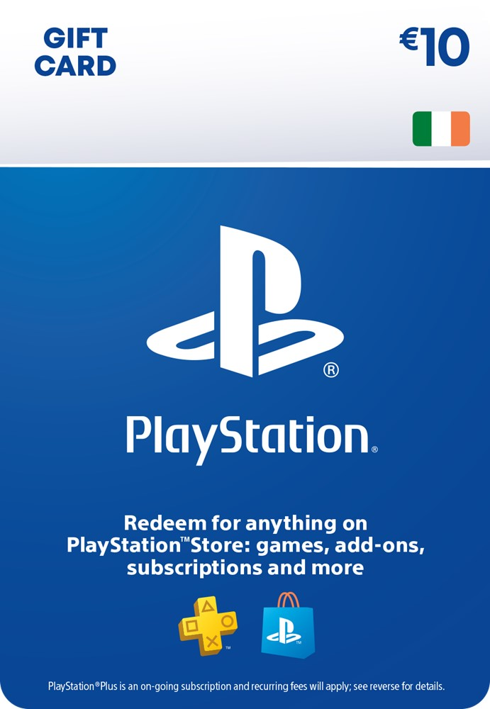 €10 PlayStation® Network Wallet Top Up [DIGITAL]