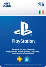 €15 PlayStation® Network Wallet Top Up