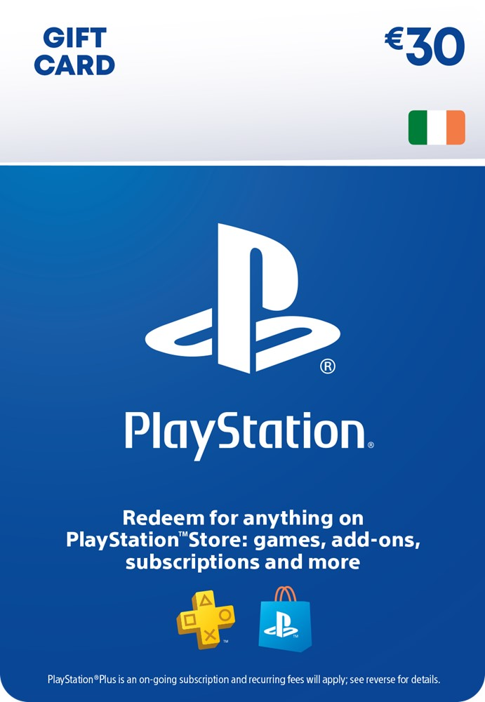 €30 PlayStation® Network Wallet Top Up [DIGITAL]