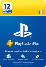 PlayStation® Plus: 12 Month Membership