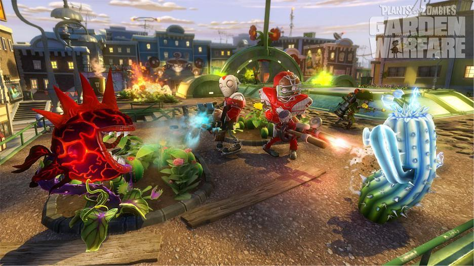 Plants Vs Zombies Garden Wars