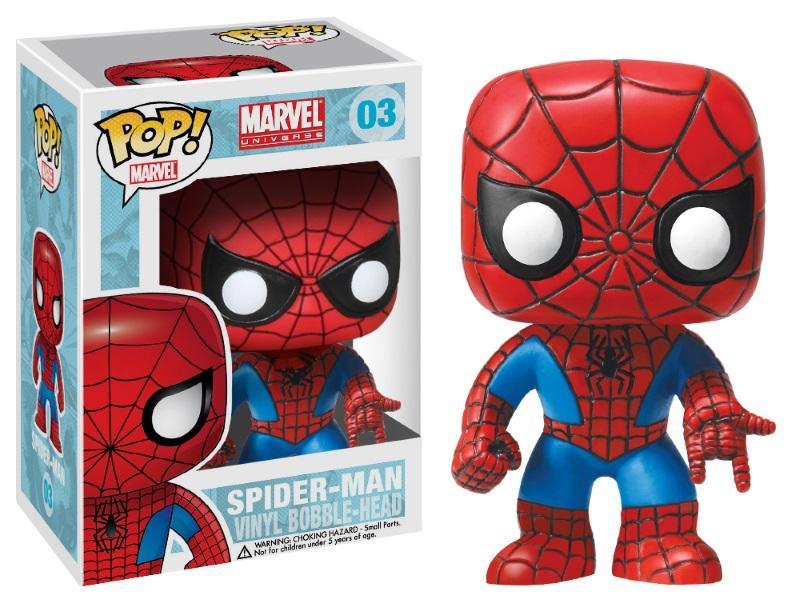 Pop! Marvel: Spider-Man - Spider-Man Vinyl Bobble Head
