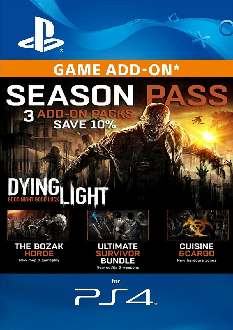 Dying Light Season Pass DLC for PS4 [DIGITAL]