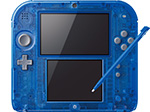 Nintendo 2DS Transparent Blue Console