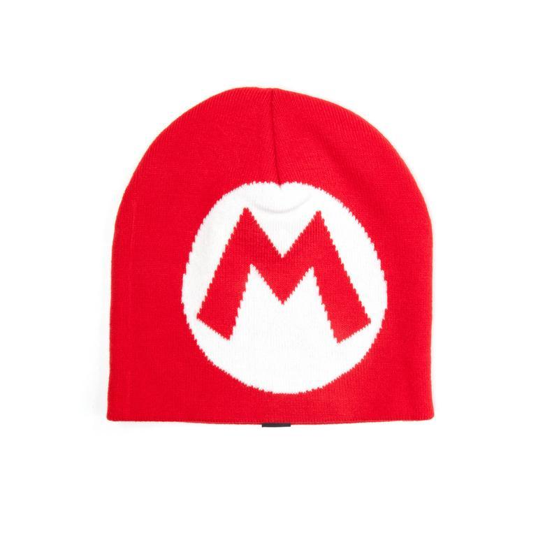 Nintendo Knitted Red Mario Beanie Gamestop abfb9374fe2