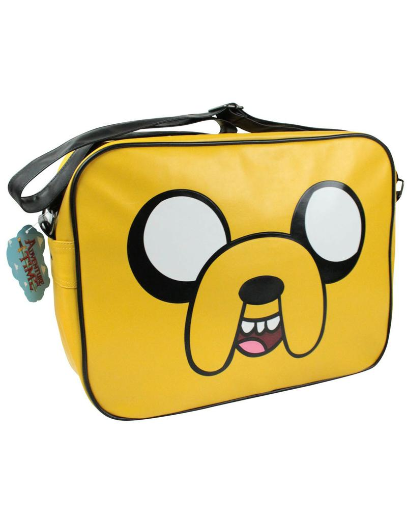 adventure time jake face satchel bag gamestop