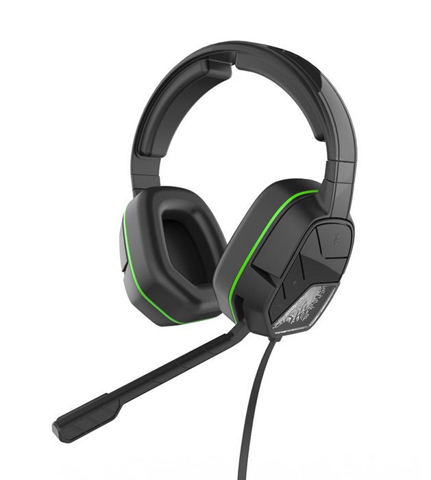 Afterglow Black LVL 3 Stereo Headset for Xbox One