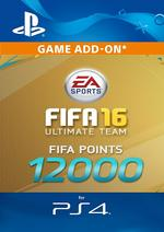 12000 FIFA Points - FIFA 16 for PS4