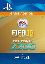 2200 FIFA Points - FIFA 16 for PS4