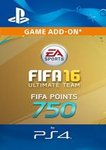 750 FIFA Points - FIFA 16 for PS4