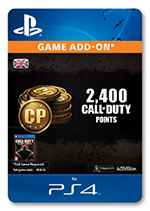 2400 Call Of Duty Points for PS4