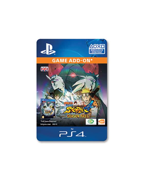 Naruto Shippuden: Ultimate Ninja Storm 4: Season Pass DLC for PS4 [DIGITAL]