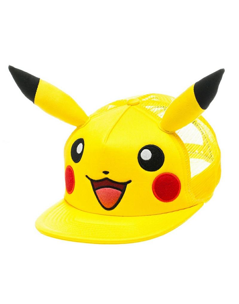 Pokemon Pikachu with Ears Snapback Gamestop 53c3d2f15d0