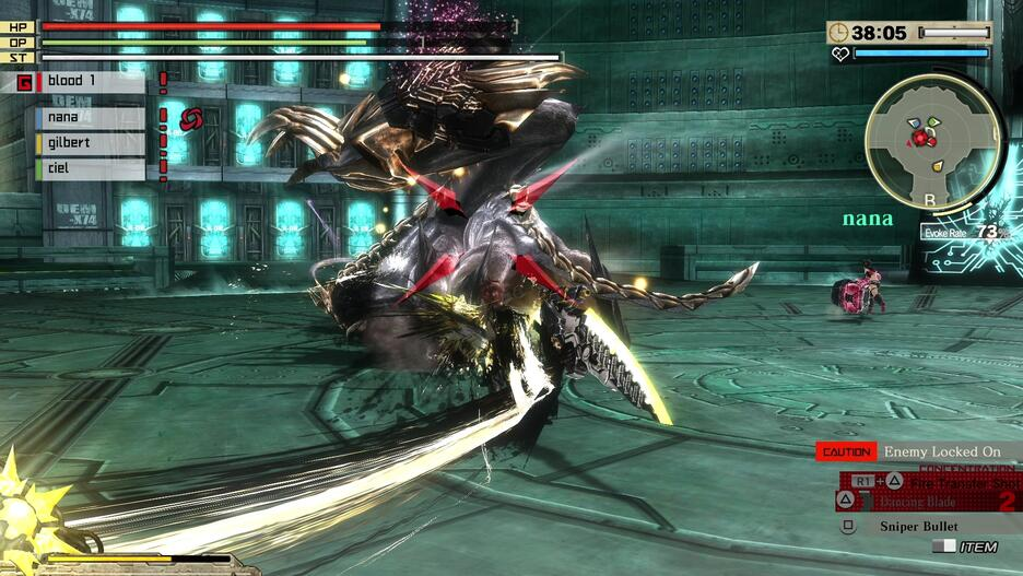 God Eater: Rage Burst