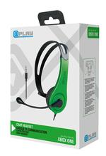At Play Black/Green Chat Headset for Xbox One