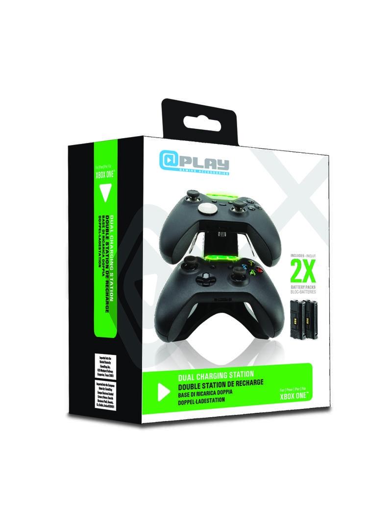 At Play: Xbox One USB Dual Charging Station