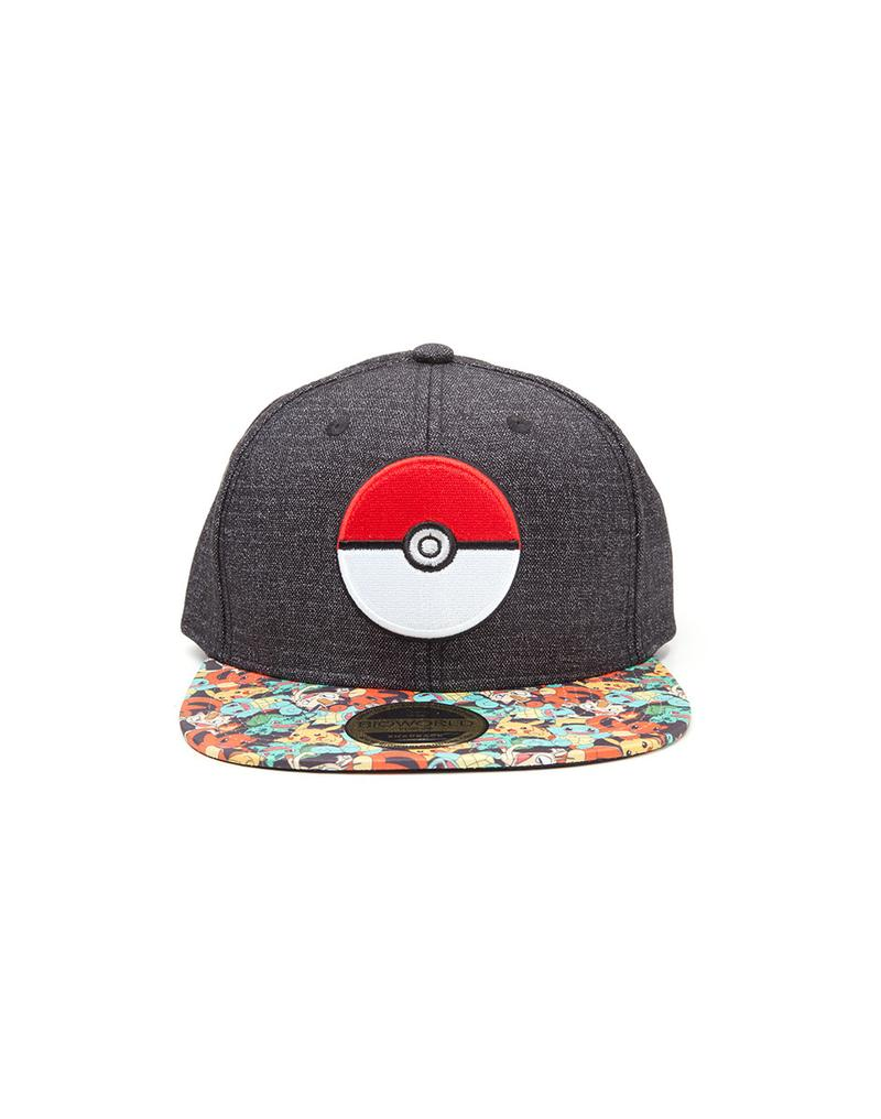 952a942700e Pokemon Poke Ball Snapback Cap Gamestop