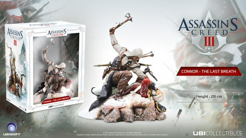 Assassins Creed 3 Connor The Last Breath Statue Gamestop Ireland