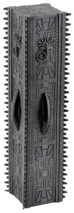 Alien vs Predator: Temple Pillar Diorama Element