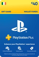 €40 PlayStation® Network Wallet Top Up