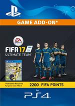 FIFA 17 Ultimate Team - 2200 Points for PS4