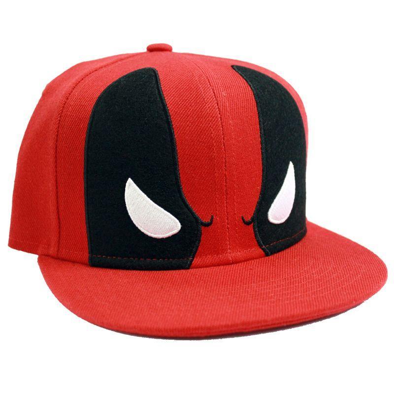 20cab5afaf3 Marvel Deadpool Mask Snapback Cap Gamestop