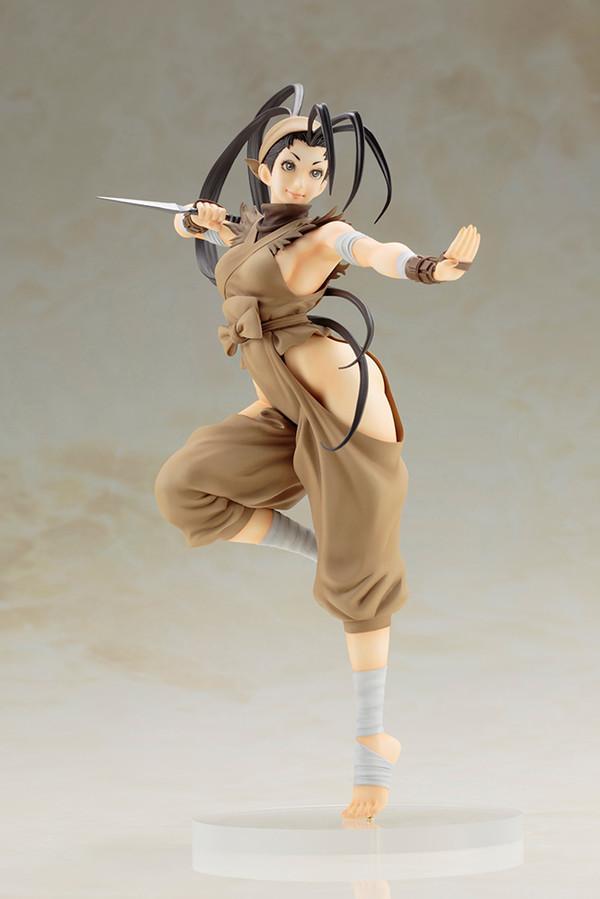 street fighter ibuki bishoujo statue gamestop