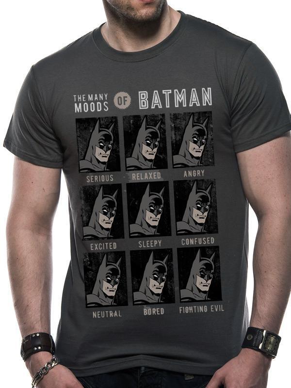 627a350c4 DC Comics: The Many Moods of Batman T-Shirts GameStop Ireland