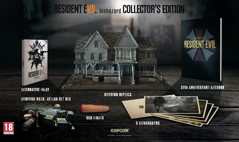 Resident Evil 7 Collectors Edition  (Game Not Included)