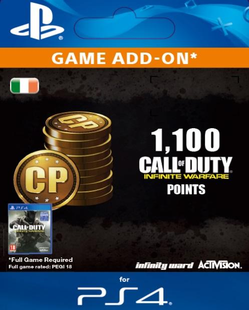 Call Of Duty Infinite Warfare 1100 Points For Ps4 Gamestop